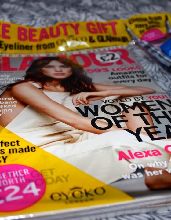 Glamour Magazine – Free Eyeko Eyeliner