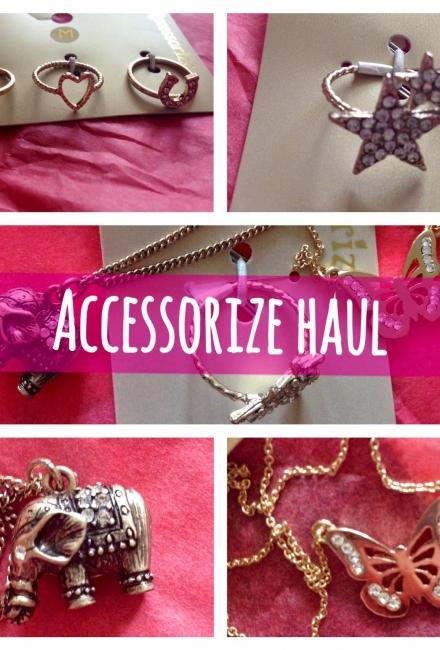 Accessorize Haul