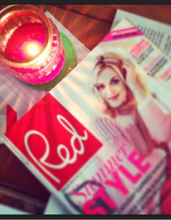 Free Lip Balm!! With Red Magazine