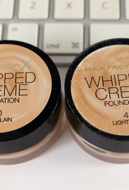 Disappointment – Max Factor Whipped Cream Foundation