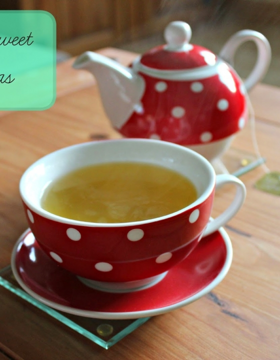 Twinings Sweet Green Teas!