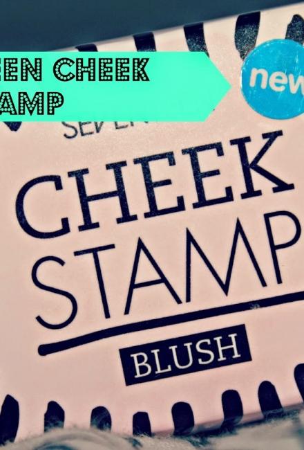 Seventeen Cheek Stamp