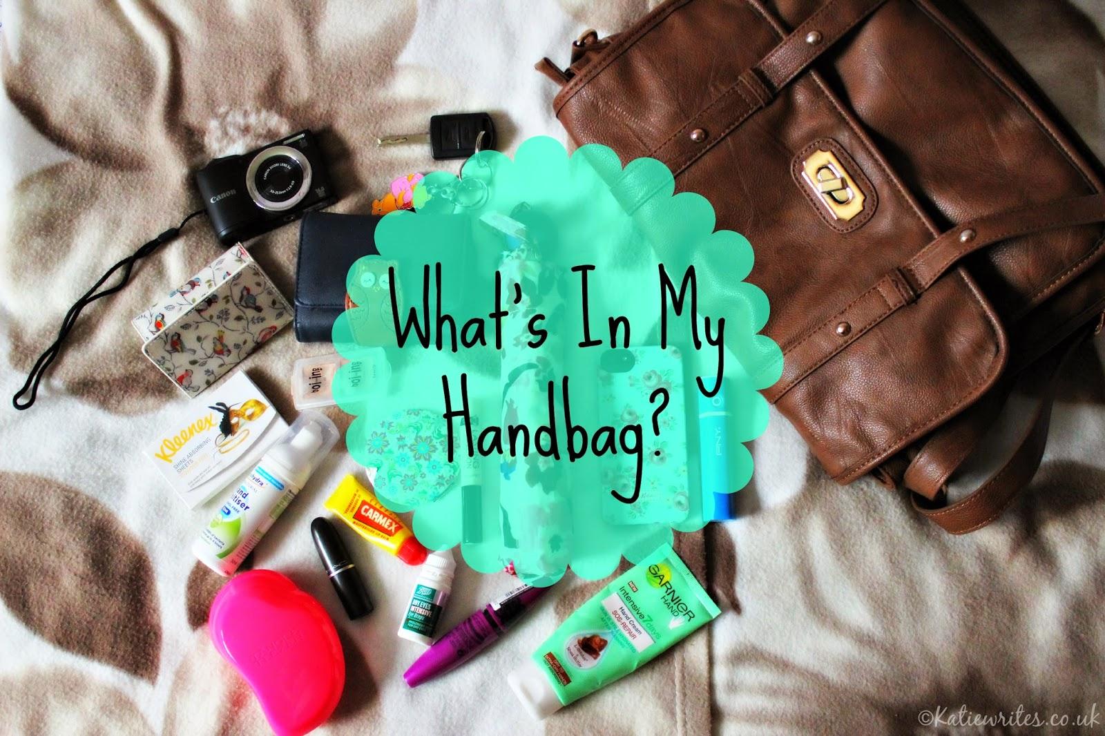 What's In My Handbag?