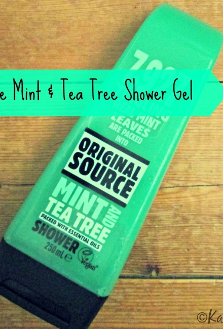 Original Source Mint & Tea Tree Shower Gel