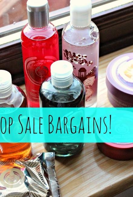 Body Shop Sale Bargains!