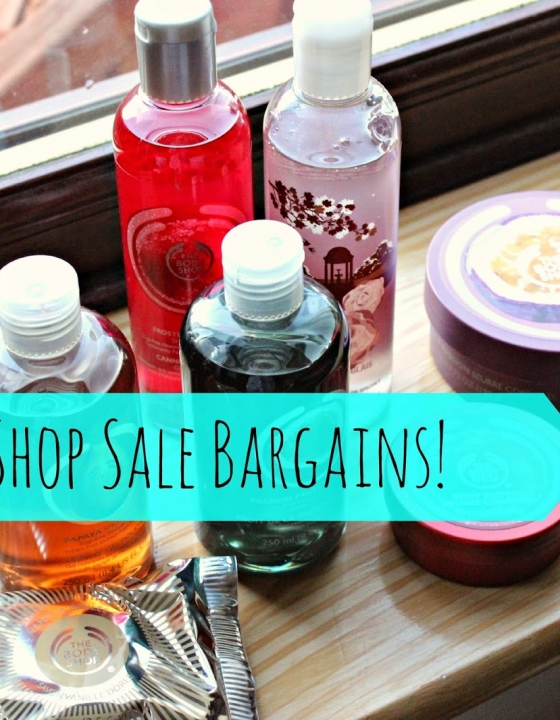 Body Shop Sale Bargains!