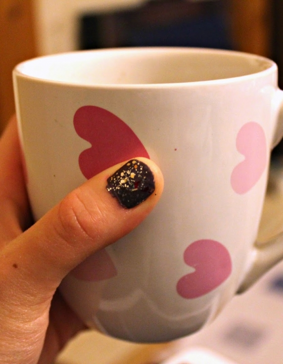 Sparkly Sunday: Barry M Cappucino & Moonlight