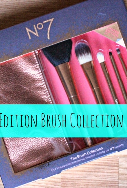 No7 Limited Edition Brush Collection