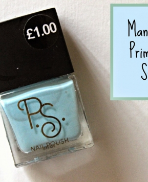 Mani Monday: Primark Blue Stuff…
