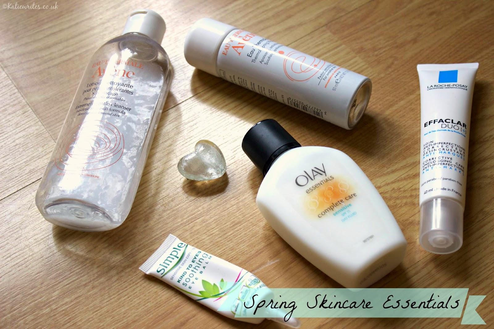 Spring Skincare Essentials (for Sensitive Skin)