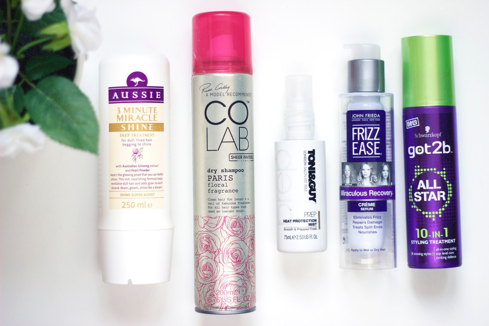 Recent Purchases: Haircare