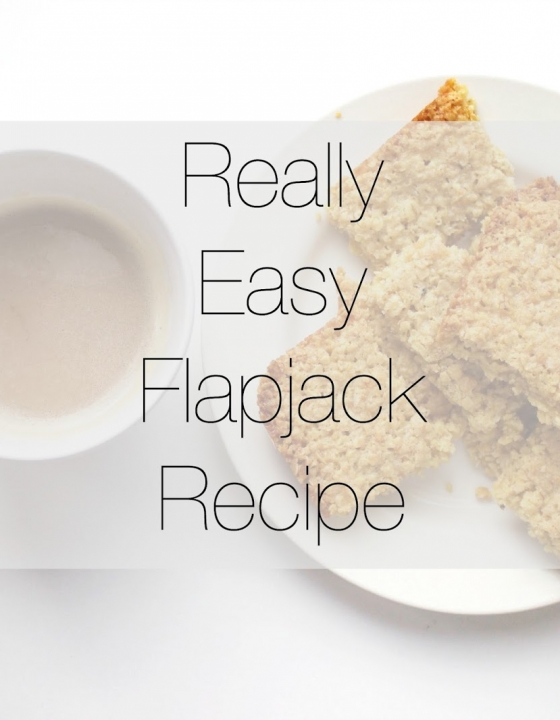 Really Easy Flapjack Recipe!