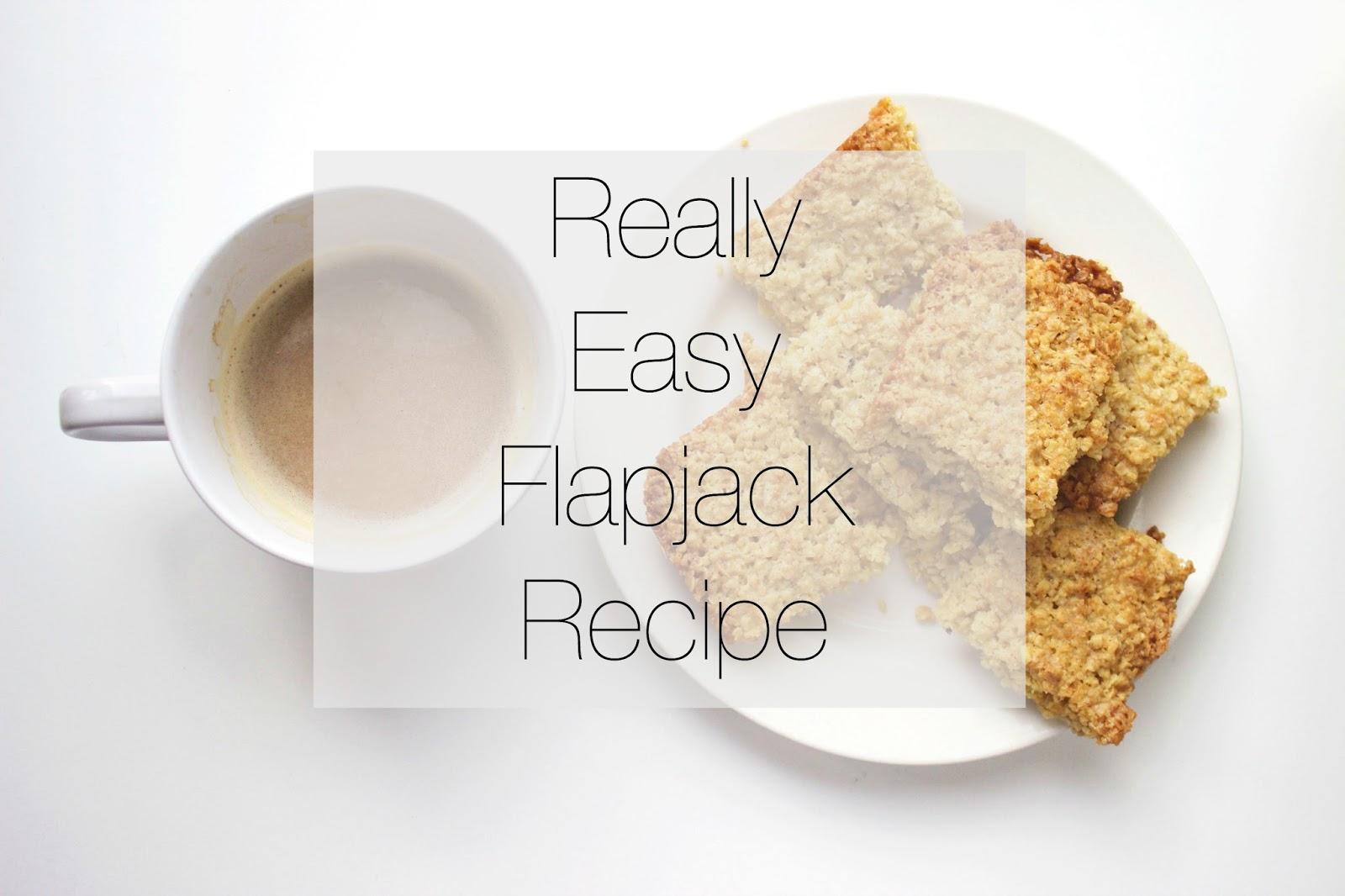 Really Easy Flapjack Recipe!