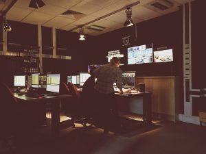 CBJ News, Nottingham Trent University, Notts TV, Gallery, Behind The Scenes, Broadcast Journalism,