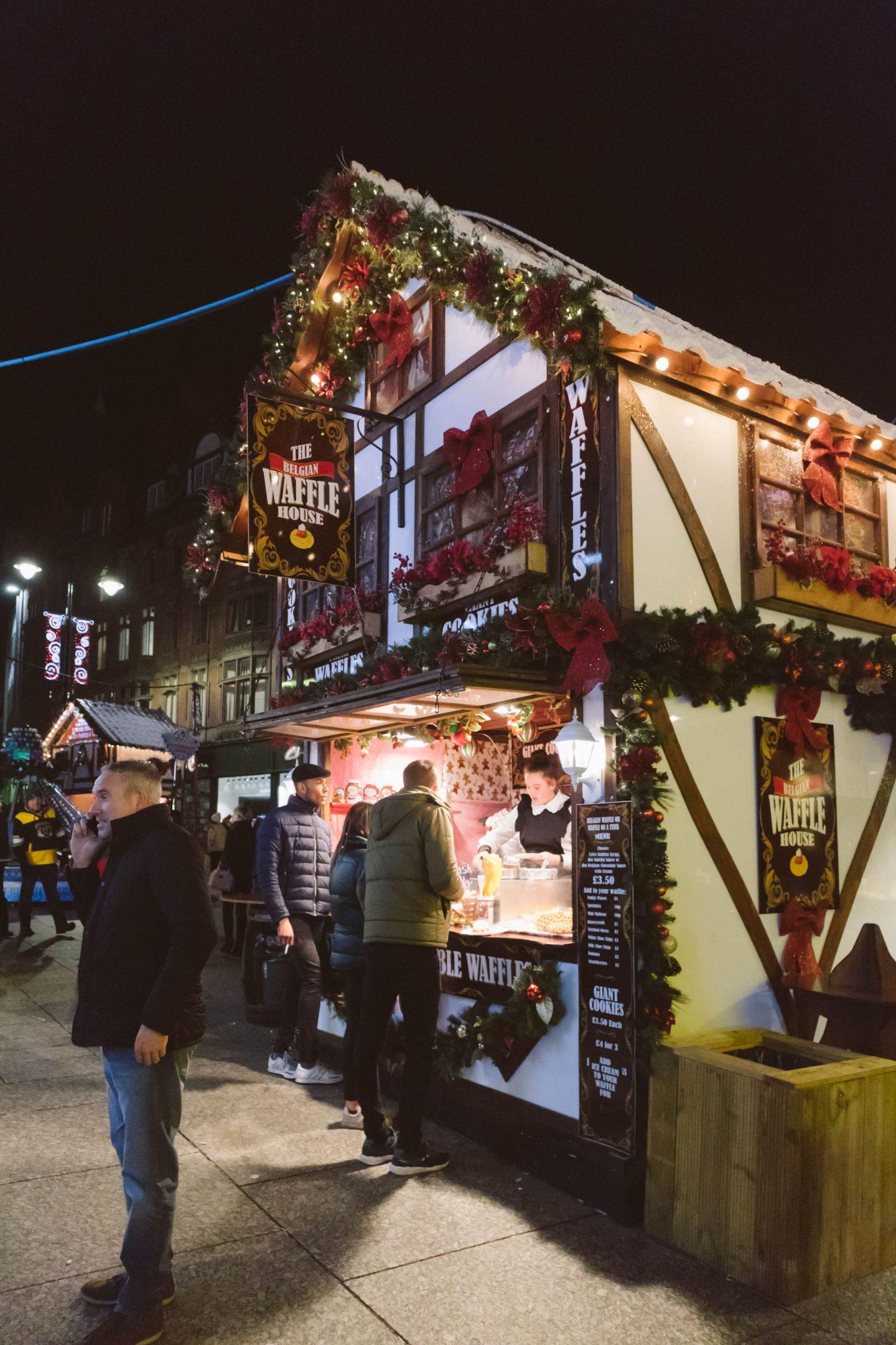Nottingham Winter Wonderland ©Katiewrites.co.uk - East Midlands Christmas Market UK