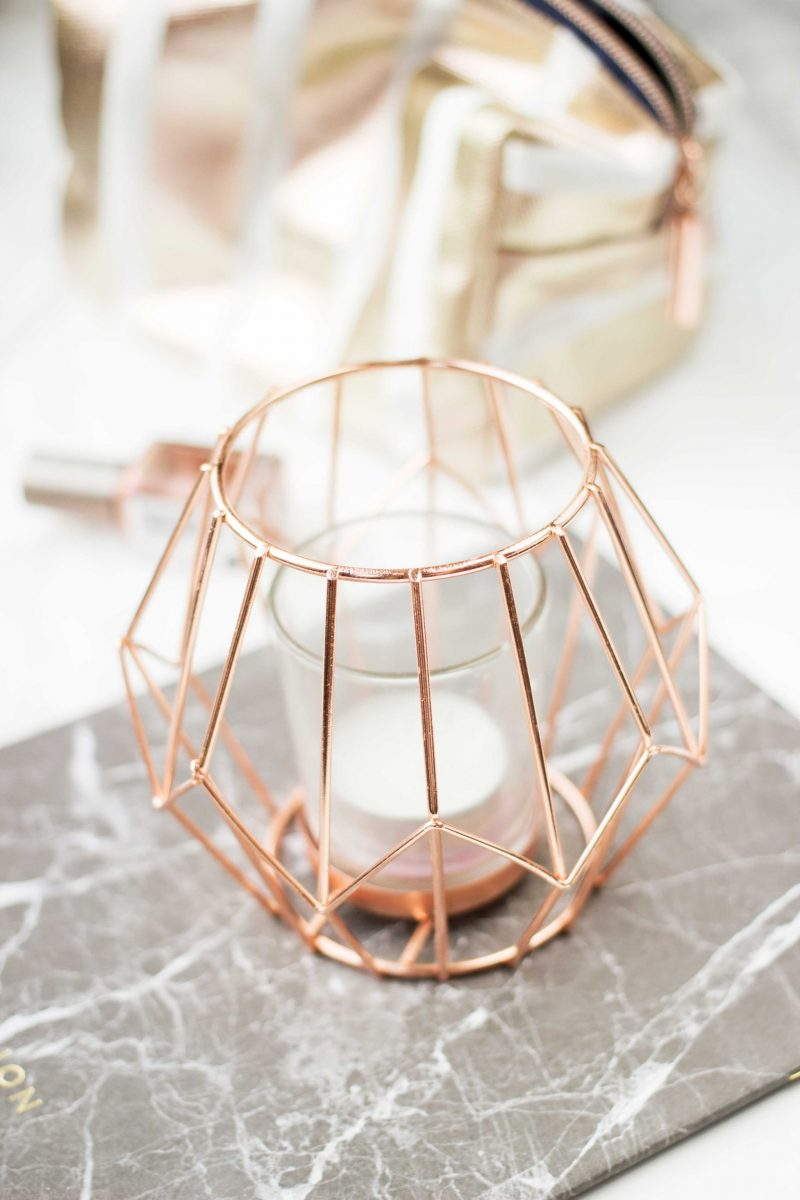 Copper Tealight Holder, Pretty, Interiors, Blogs, ©Katiewrites.co.uk