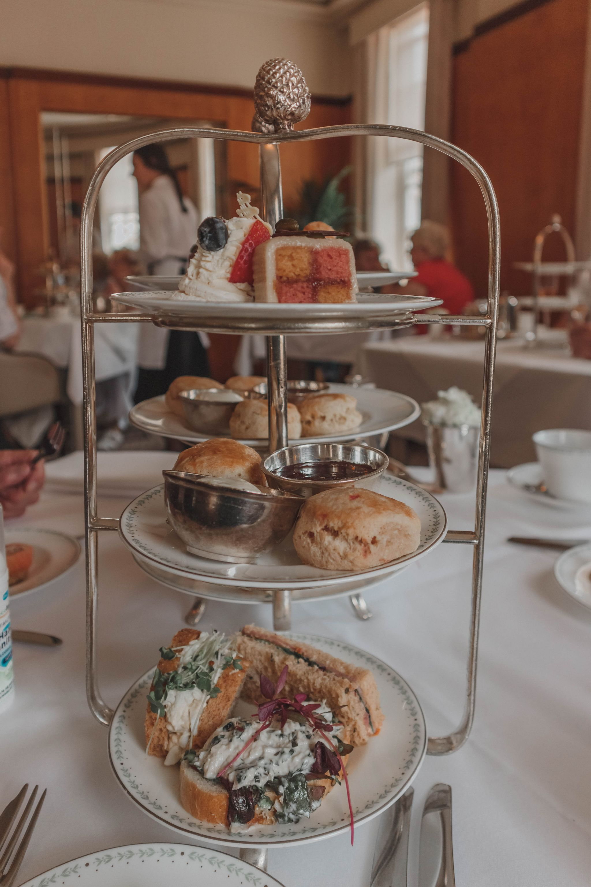 Lady Betty Afternoon Tea, 2018, Bettys, York, St Helens Square, St., Afternoon Tea in England, Yorkshire, York, UK, Travel, Tourism, North England, Food, Sandwiches, Cakes, Scones, Belmont Room, Treat, Katie Writes, Katiebwrites, KatieWritesUK, ©Katiewrites.co.uk