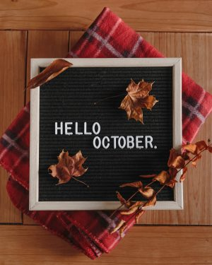 ©Katiewrites.co.uk, Katiebwrites, KatieWrites, KatieWritesBlog, KatieWritesUK, Flatlay, Flat lay, October, Fall, Autumn, Seasons, Autumnal, Leaves, Tartan Blanket, Throw, Letterboard, Letter board, Derbyshire Bloggers, Derby Bloggers, East Midlands Bloggers, British Bloggers,