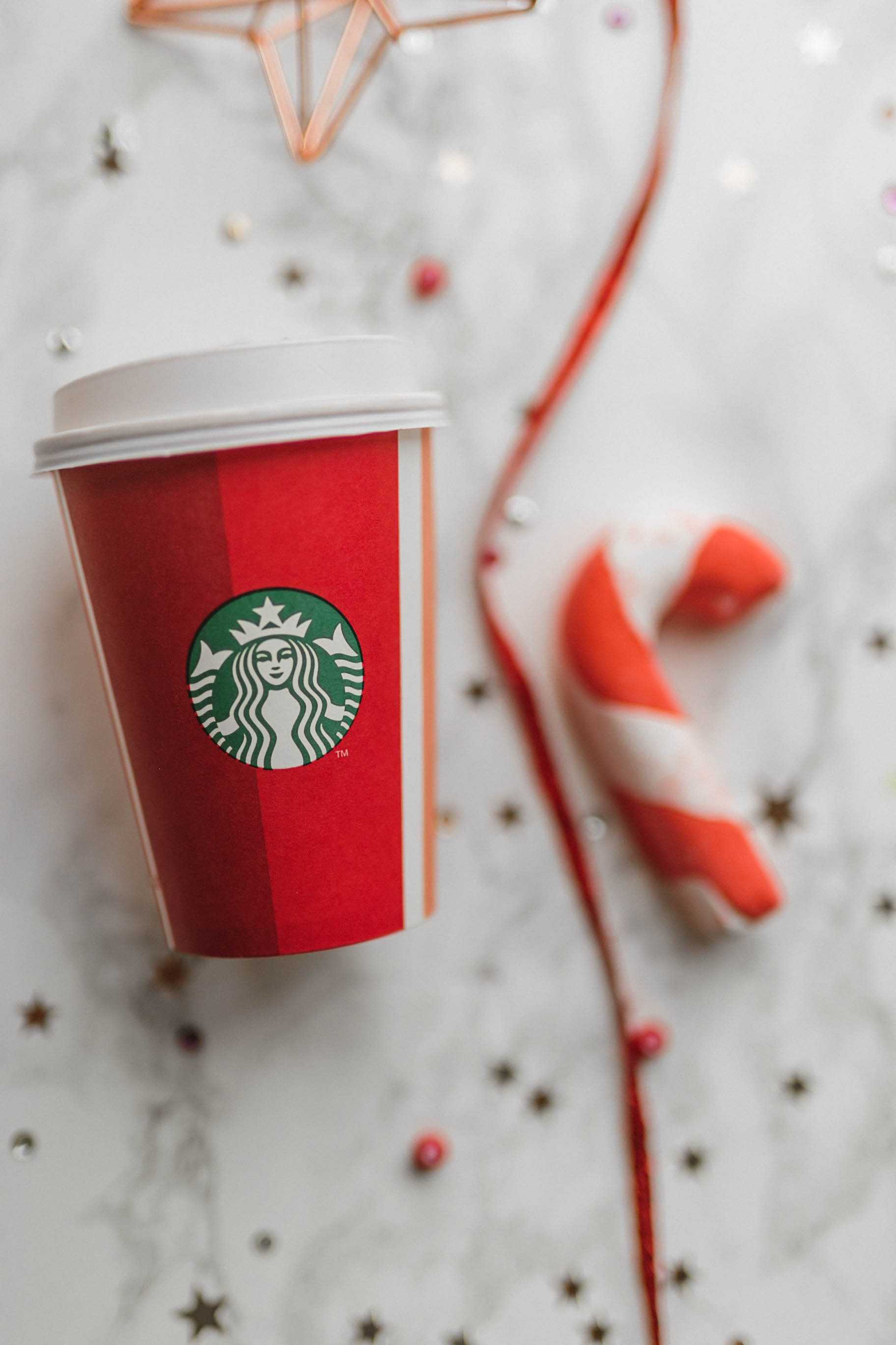 Christmas, 2018, Flatlay, Flat lay, Blog, Starbucks, Red Cups 2018, Red Cups, Candy Cane, Festive, UK Bloggers, katiebwrites, KatieWritesUK, Katie Writes, ©Katiewrites.co.uk
