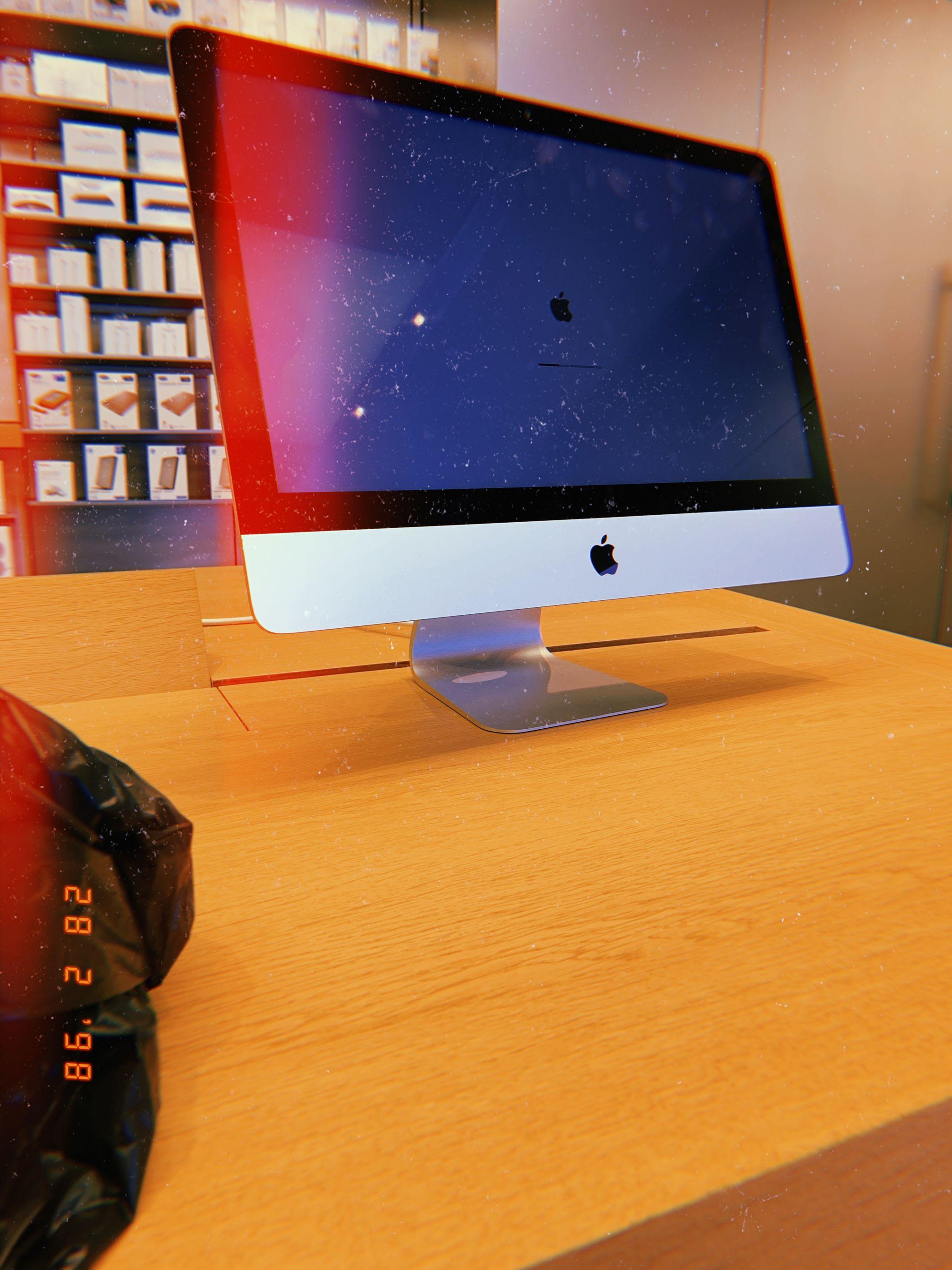 Manchester Arndale, iMac, Broken, Apple Store, Manchester, Shopping Centre, katiebwrites,