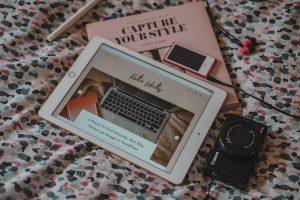 Katie Writes, KatyWrites, Katie Writes Blog, Katie Brown, Flatlay, Flat lay, iPad 2019, Capture Your Style Book, Stationery, Canon G7X, iPod Nano, katiebwrites, KatieWritesUK,