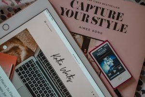 Katie Writes, KatyWrites, Katie Writes Blog, Katie Brown, Flatlay, Flat lay, iPad 2019, Capture Your Style Book, Stationery, Canon G7X, iPod Nano, katiebwrites, KatieWritesUK,