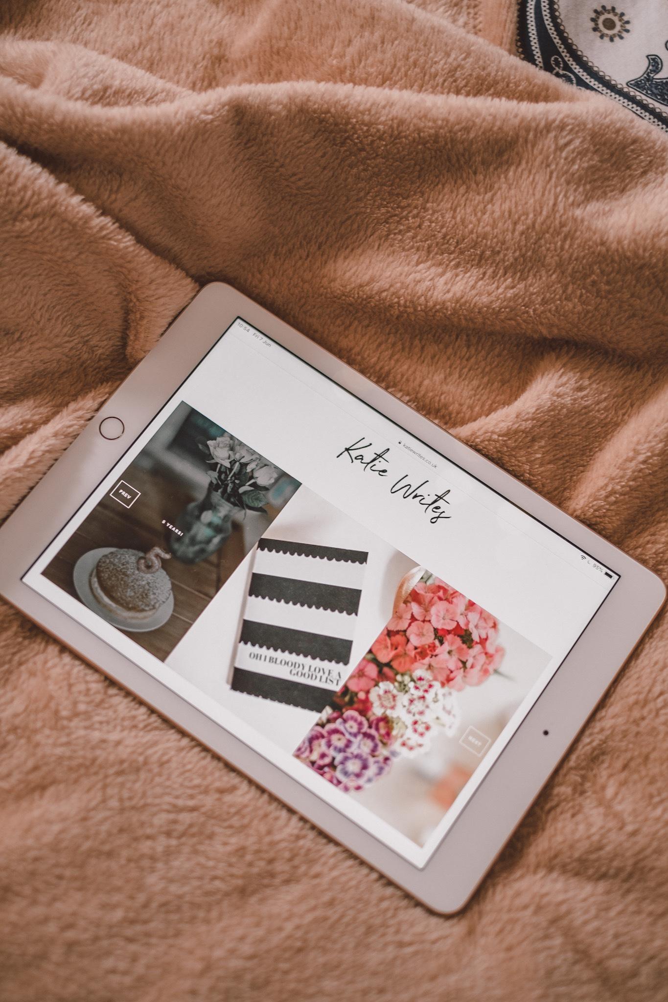 Blog, iPad,
