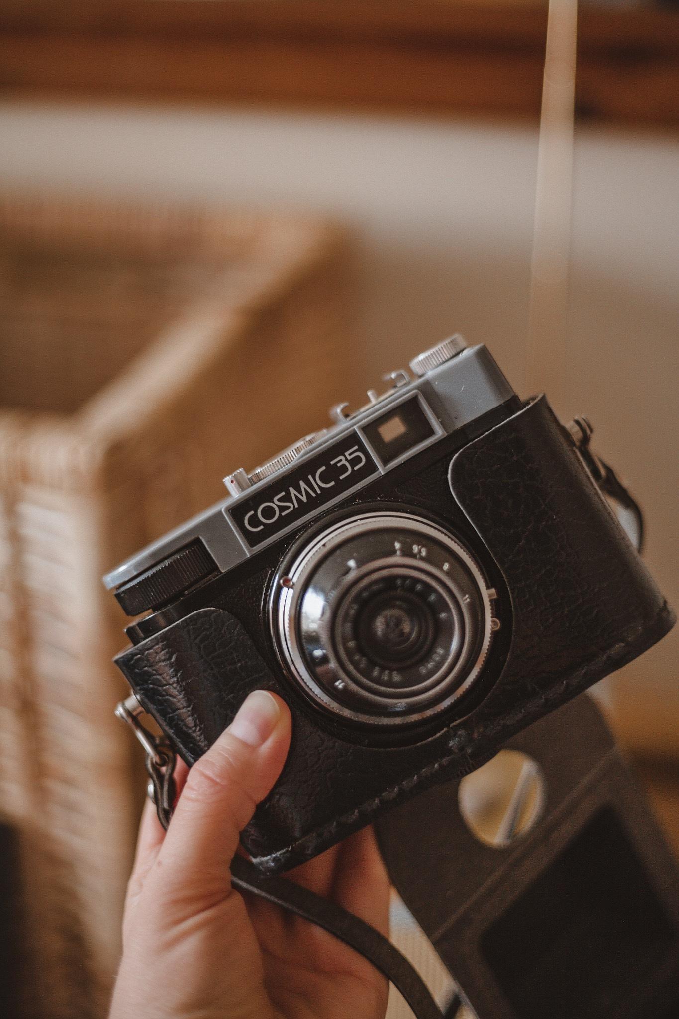 Cosmic 35 Film Camera, Smena-8, Smena 8, Cosmic 35, Soviet Film Camera, Katie Writes,