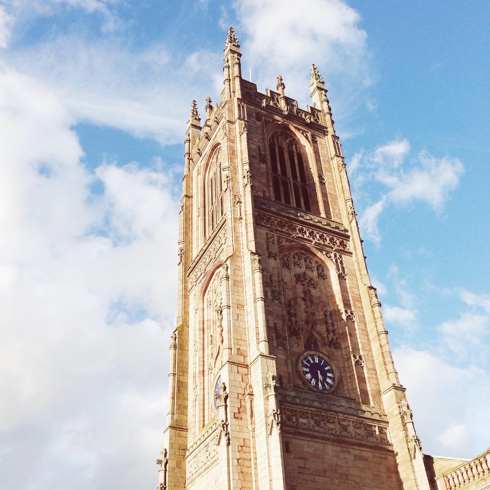 Derby Cathedral, Derby, katiebwrites, Derby Bloggers,