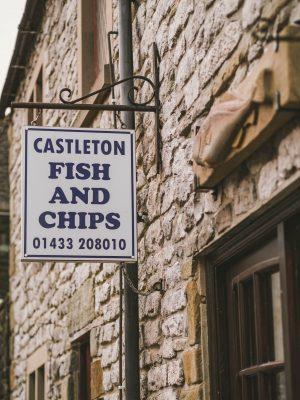 Castleton Fish and Chip Shop, Derbyshire,