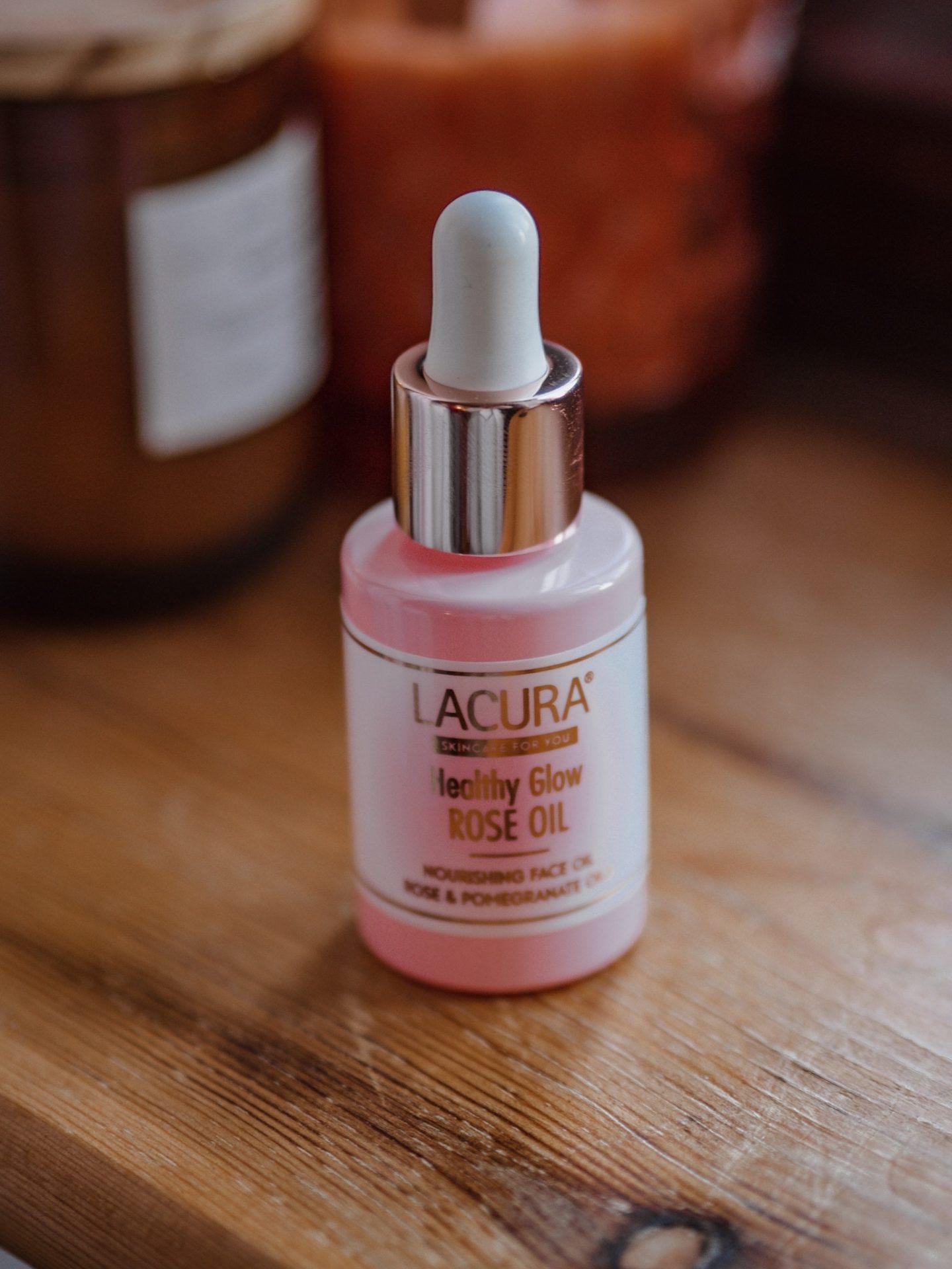 Aldi, Lacura Skincare, Aldi Face oil, Rose Face oil, Beauty Bloggers, Bargain beauty,