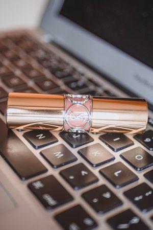 YSL Lipstick 9 Nude, Beauty Blogs, Beauty Bloggers, Katie Writes,