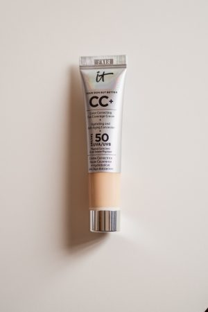 IT Cosmetics CC Cream, Your Skin But Better, Review, Katie Writes, UK Beauty Blog, Beauty bloggers, IT Cosmetics CC Cream in Fair,