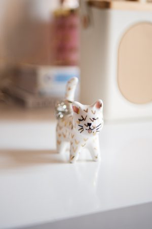 Oliver Bonas Cat, Ring Holder, Katie Writes, Petite Joys,