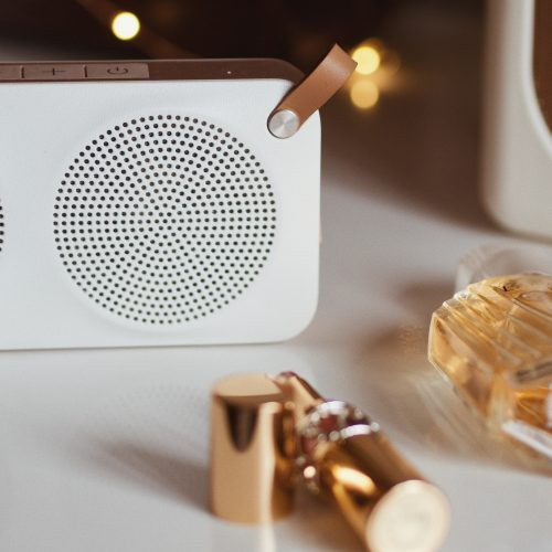 Spring Playlist, Katie Writes, 2021 May Day Bank Holiday, Rose gold bluetooth speaker,